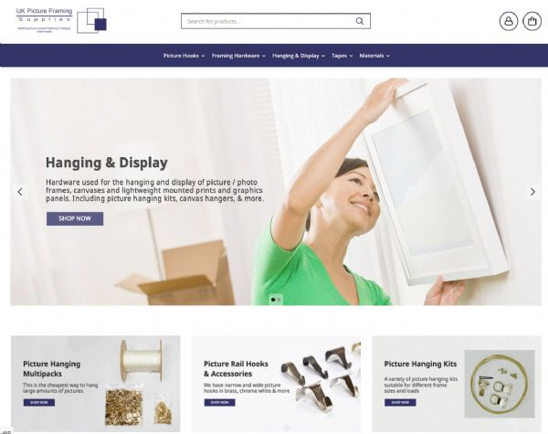 New UK Picture Framign Supplies Website